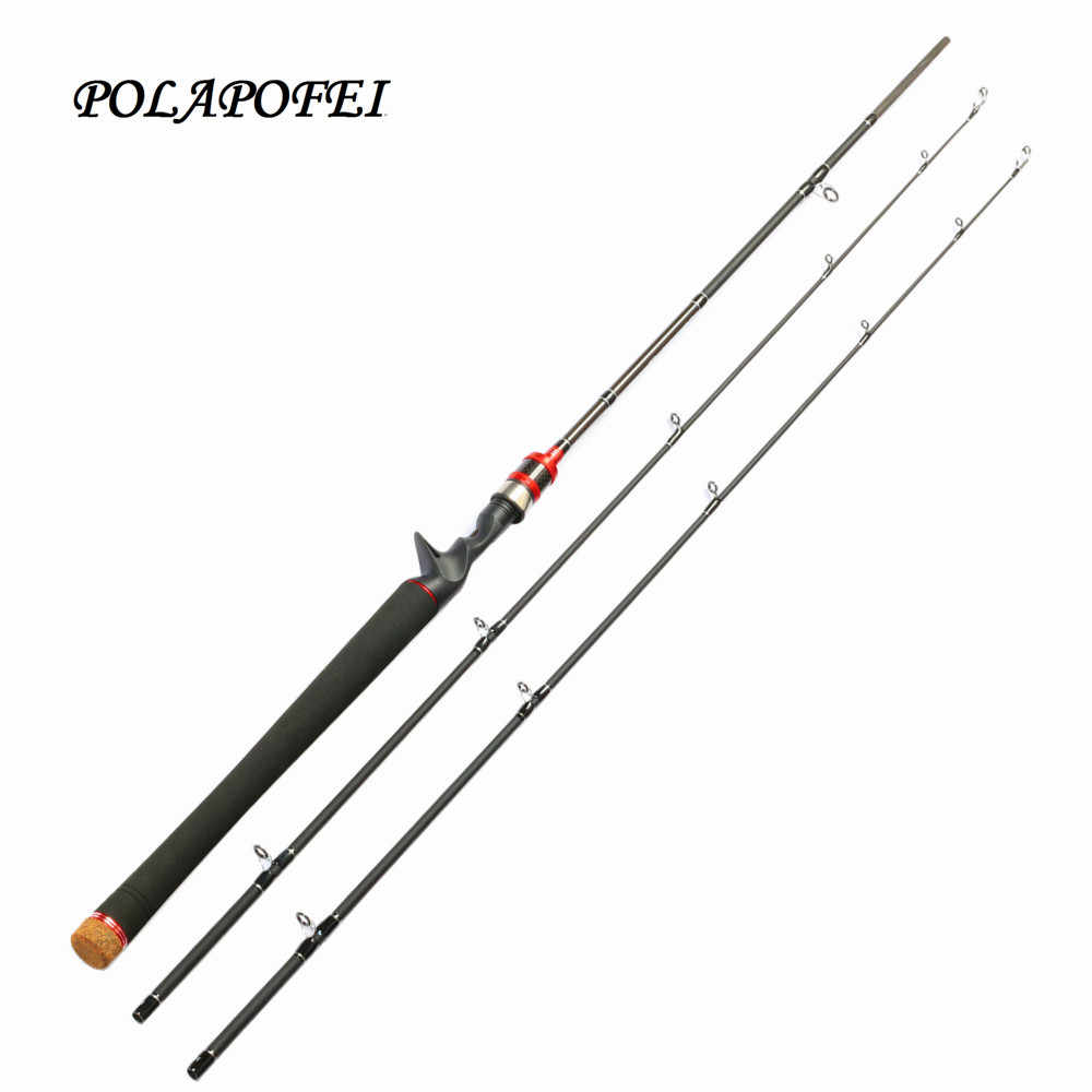 b93006f3aa8 POLAPOFEI 2 Tips Carbon Spinning Fishing Rod Fly Fishing Pole Casting Rods  Carp casting Rod Olta