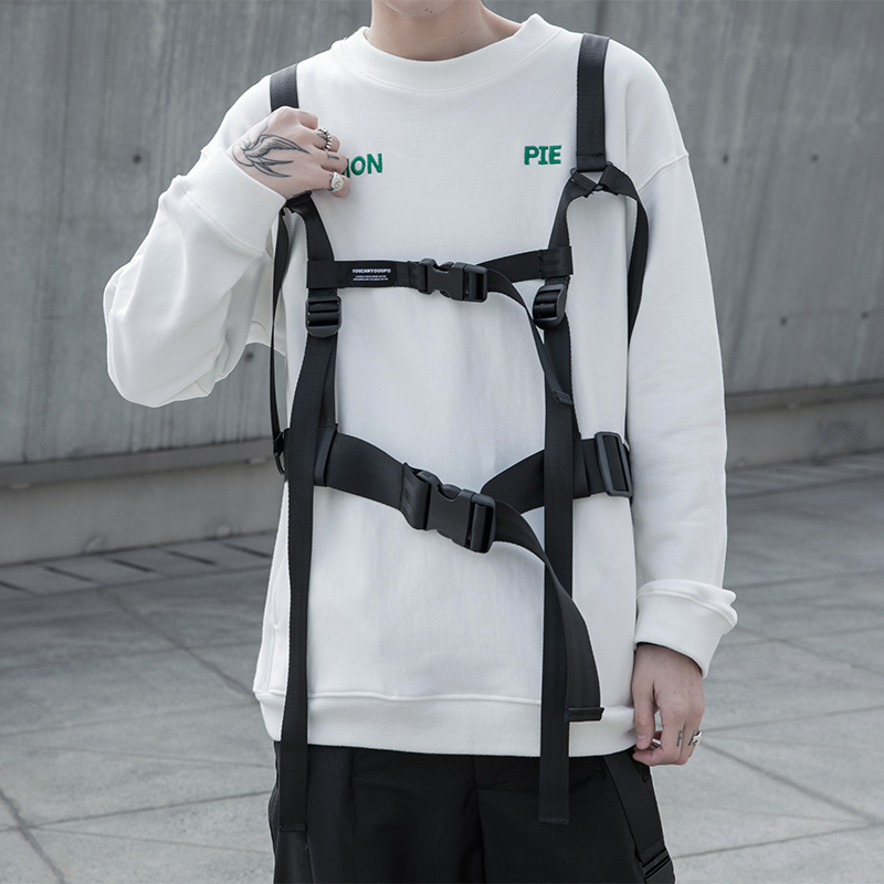 Multi-function Chest Rig Strap Function Daily Decorative Hip-hop Streetwear Shoulder Strap Adjustable Buckle Belt Men And Women