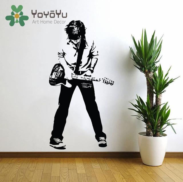 Age Rockstar Rock And Roll Wall Decal Art Home Decor Sticker Poster Vinyl Boys