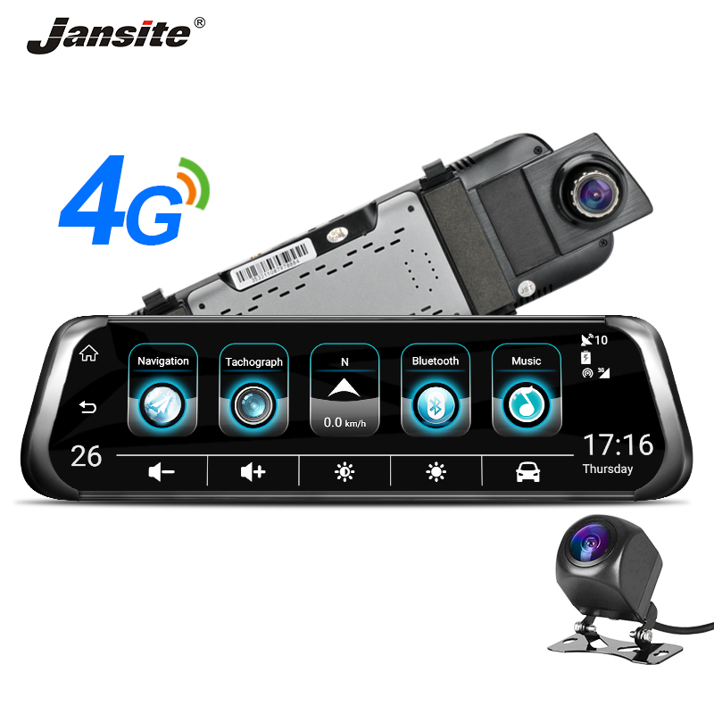 "Здесь можно купить  Jansite 3G 4G WIFI Car DVR 10"" Touch Screen Dual Lens Android Car Camera ADAS Remote Monitor Rear View Mirror GPS Bluetooth call  Автомобили и Мотоциклы"