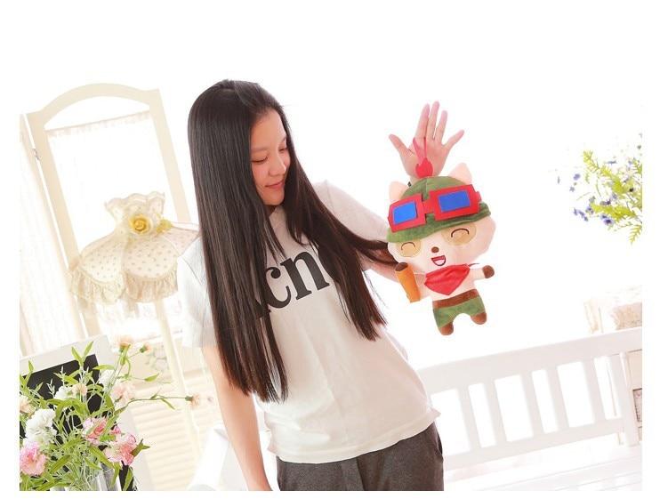 Free Shipping 35cm Plush Toys High Quality Legal Copy Teemo Doll Plush Doll