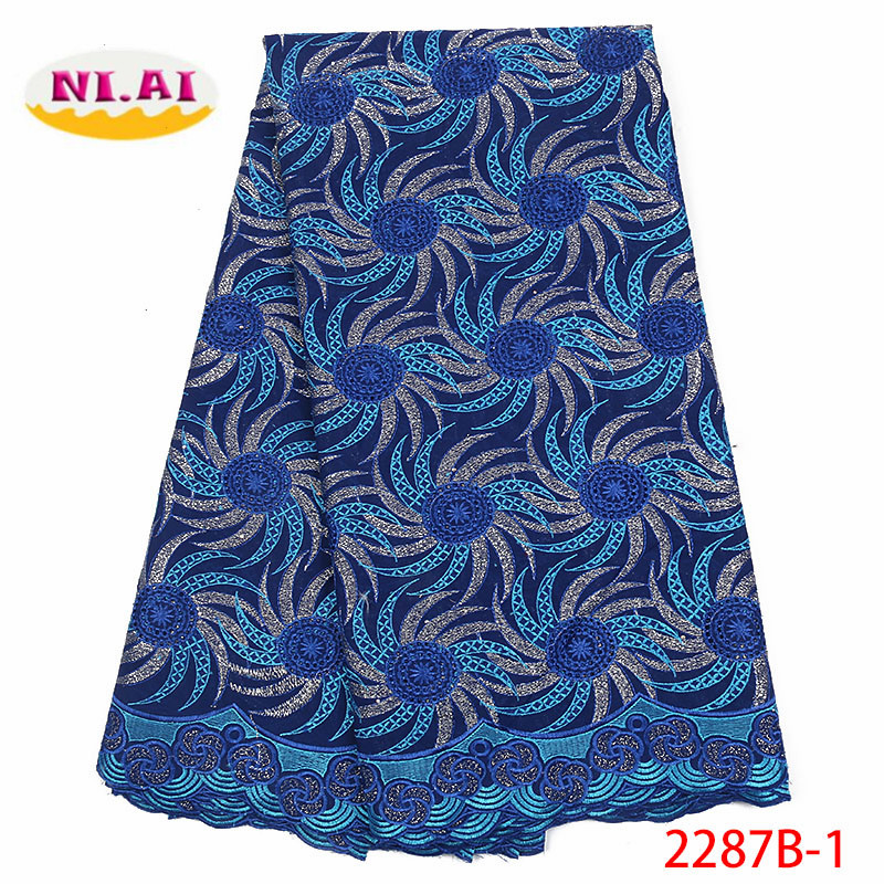 Swiss Voile Lace In Switzerland 2018 High Quality Nigerian Cotton Dry Lace Material Embroidery Swiss Voile