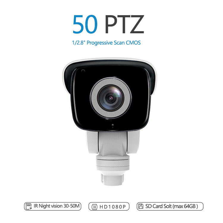 1.3MP 960P 2MP 1080P 64GB Outdoor waterproof IR Bullet PTZ Camera high speed bullet camera