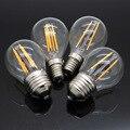 LightInBox E14 Dimmable Lâmpada 220 V Vela G45 Edison Luzes do Candelabro De Vidro Retro E27 2 W 4 W 8 W LEVOU Filamento da Lâmpada