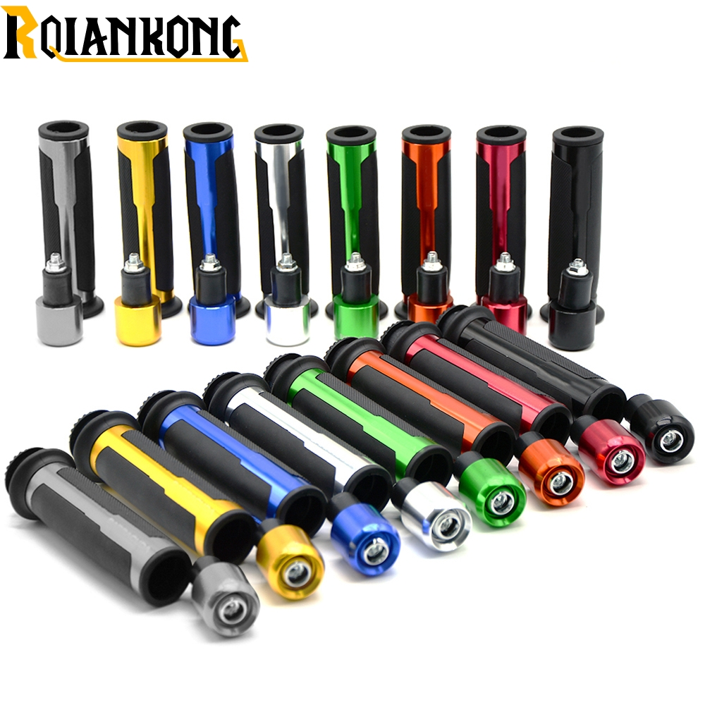 22mm 7 8 quot Motorcycle Handle bar Handlebar Grips For KTM RC8 RC8R RC125 125 Duke 990 SMR SMT Super Duke in Grips from Automobiles amp Motorcycles