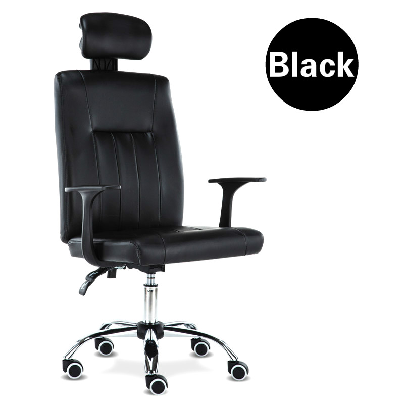 High quality simple computer office chair multifunctional household seat chair boss staff students high quality boss chair home computer chair pu office swivel chair seat bow lay staff meeting seat