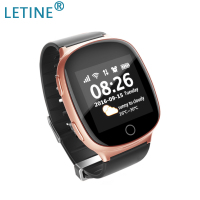 Letine D100 sos Elderly Watch Tracker Smart Watches Clock Cell Phone with Sim Card Slot GPS Tracker SOS for Xiaomi Huawei