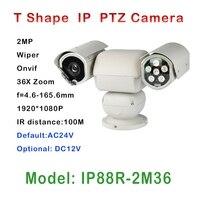 High Quality 36 X Zoom Control Day Night Heavy Duty Camera IP PTZ IR 100M Auto