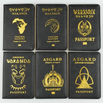 DIKEDAKU Wakanda paszport posiadacz RFID krzyż wzór pu skórzana okładka paszport Marvel Asgard paszport portfele portfel Drop wysyłka tanie i dobre opinie Posiadacze kart IDENTYFIKATOROWYCH Karta kredytowa 10 cm XT028 Unisex Pole Masz Bez zamków błyskawicznych Moda 14 5 cm