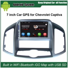 Upgraded Original Car Radio Player Suit to Chevrolet Captiva 2011-2012 Car Video Player Built in WiFi GPS Navigation Bluetooth