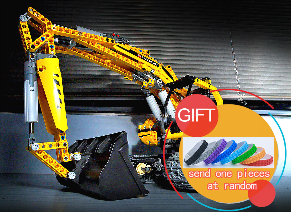 20007 1123pcs technic series excavator Model Building Compatible Toy Christmas Gift 8043 Educational Car toys lepin lepin 22001 pirate ship imperial warships model building block briks toys gift 1717pcs compatible legoed 10210