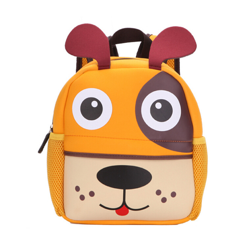 Factory Girls 3D Animal High Quality Waterproof Backpack Kids School Bags For Boys Cartoon Shaped Children Backpack Bags