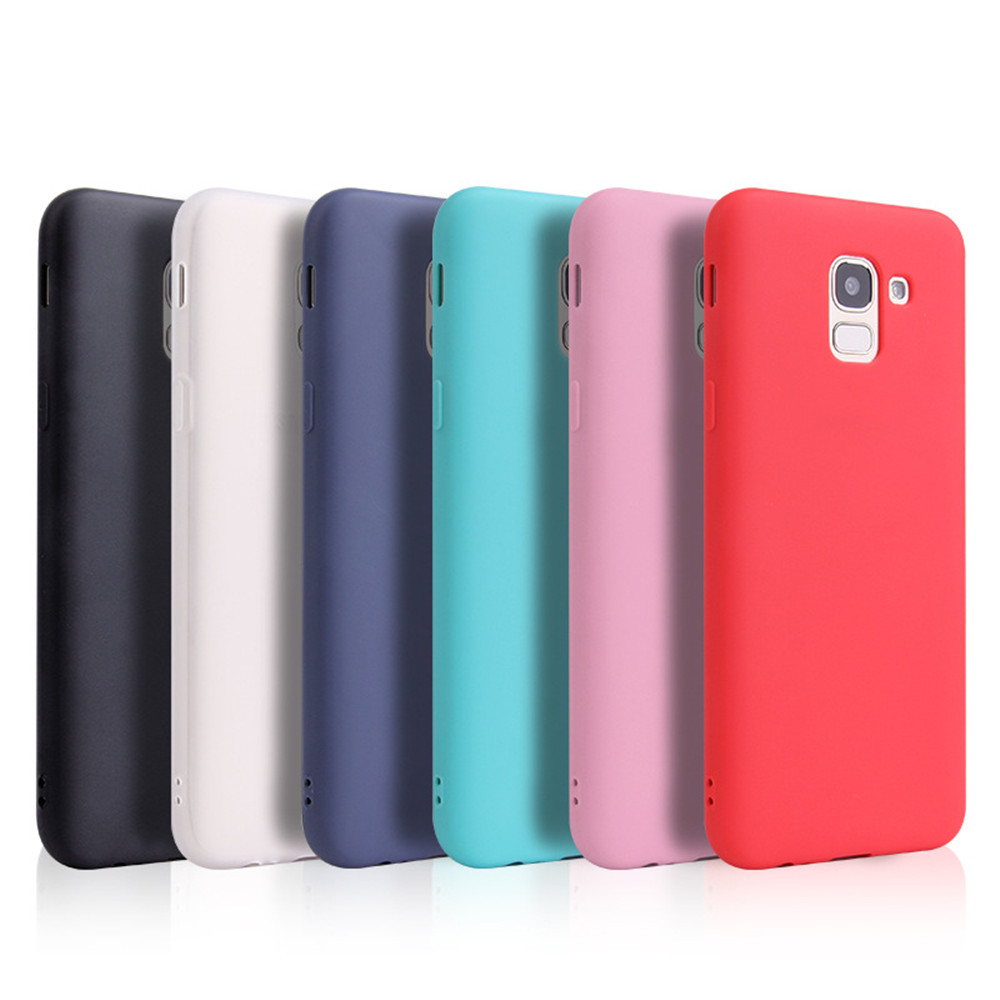 Ultra Thin Cell Phone Case For Samsung Galaxy S6 S7 Edge S8 S9 Plus S8Plus S9Plus soft TPU Silicone Back Cover _12