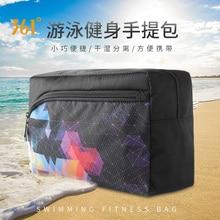 361 Swimming Bag Combo Wet Dry Handbag Unisex Waterproof Sports Men's Beach Bag 5L Training Fitness Gym Hiking Pool Storage Bag цена