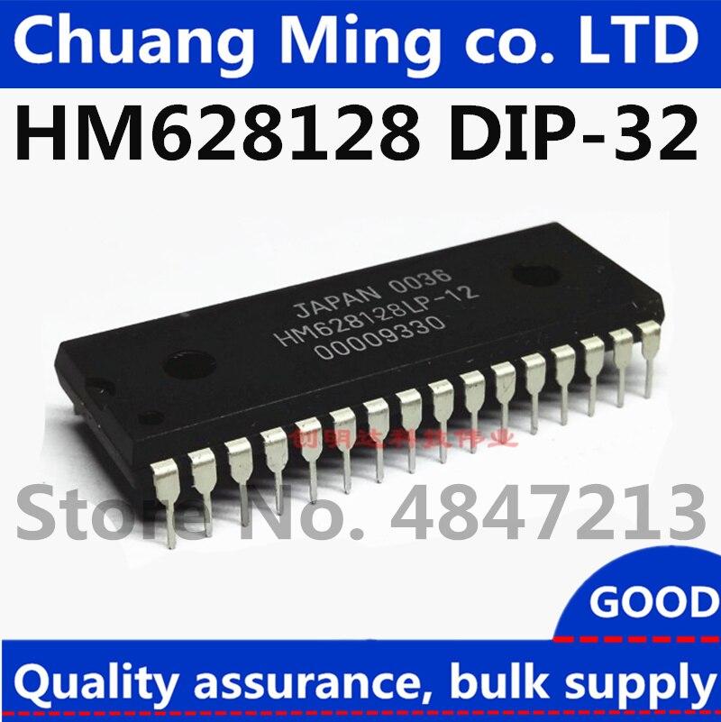 2PCS IC HM628128LP-12 HM628128LP-10 DIP32  HITACHI  NEW GOOG QUALITY