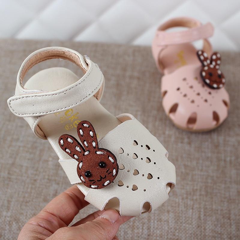 Été enfants chaussures 2018 mode cuirs doux enfants sandales pour filles bambin bébé respirant Hoolow Out Bow chaussures 3166853