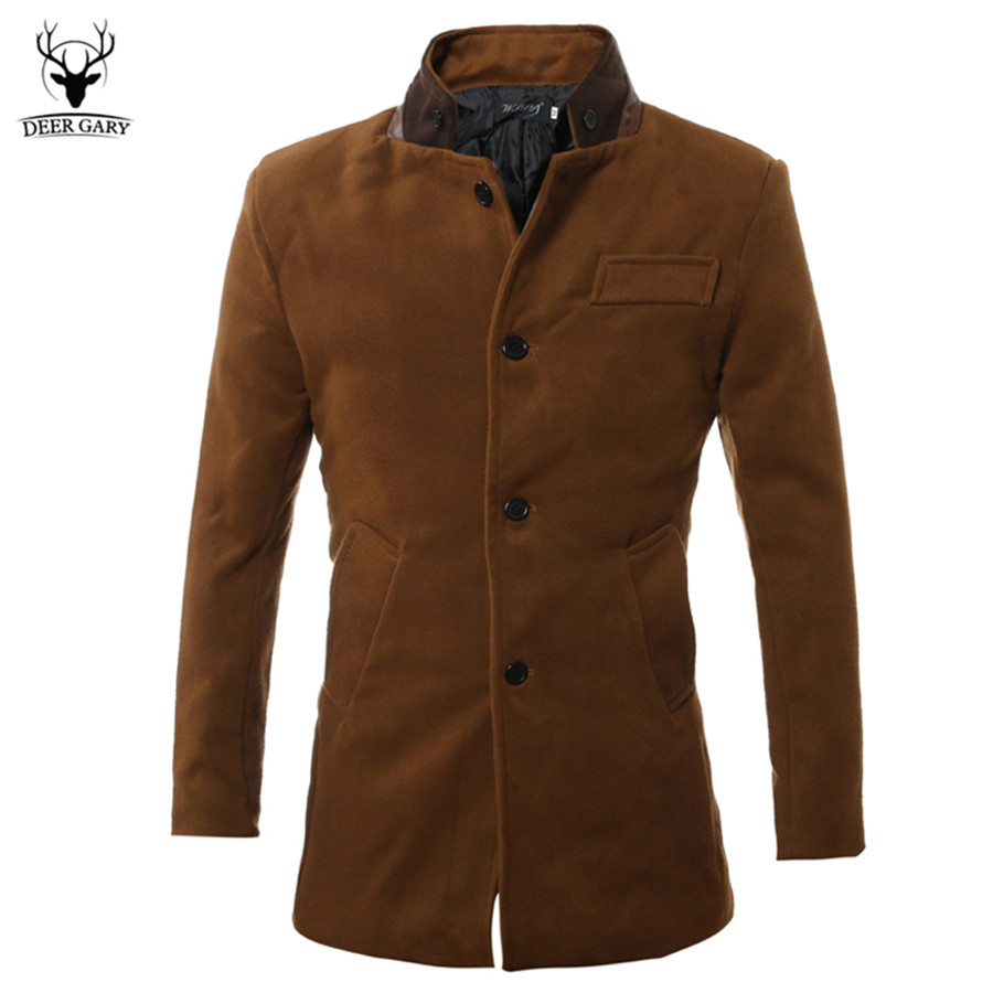 Shop eBay for great deals on Brown Coats & Jackets for Men. You'll find new or used products in Brown Coats & Jackets for Men on eBay. Free shipping on selected items. Skip to main content. Men Slim Trench Coat Winter Outwear Long Jacket Double Breasted Peacoat Overcoat. $