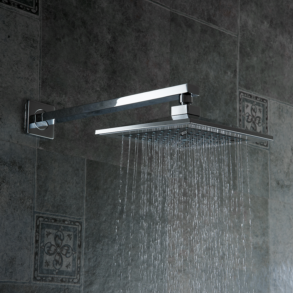 New Fashion Becola Luxury Shower Set Bathroom Rain Shower Faucet Wall  Mounted Concealed Shower Kit B S0808 W In Shower Faucets From Home  Improvement On ...