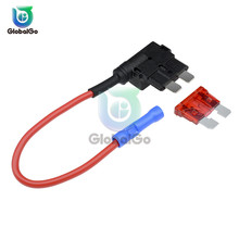 12V Micro/Mini/Standard Size Car Fuse Holder Add-a-circuit TAP Adapter with 10A Micro Mini Standard ATM Blade