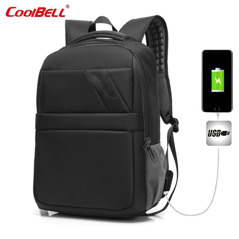 COOLBELL Men and Women Laptop Backpack Mochila Masculina 15 Inch Backpacks Luggage Men's Travel Bags Male Large Capacity Bag-FF