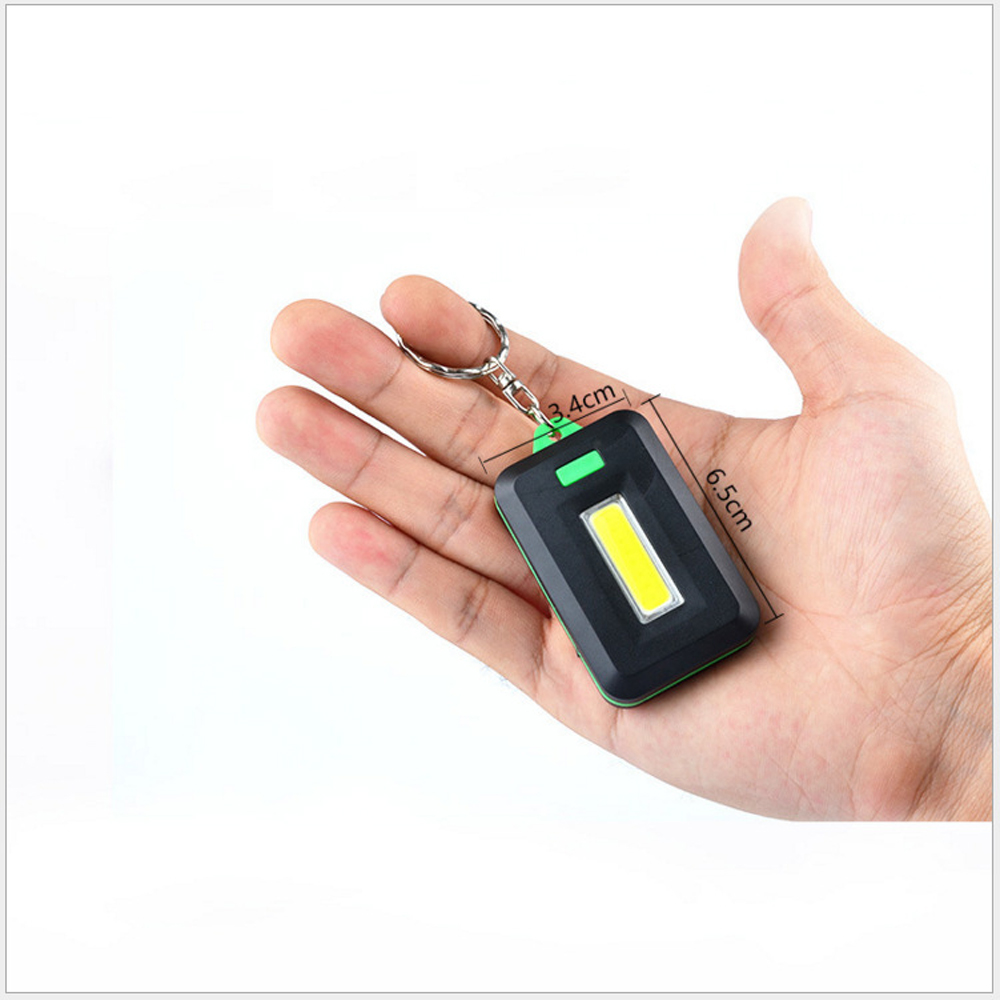 Image 5 - NEW Mini LED Flashlight Keychain Portable Keyring Light Torch Key Chain 45LM 3 Modes Emergency Camping Lamp backpack light-in LED Flashlights from Lights & Lighting
