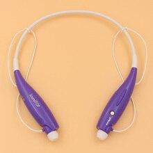 SoundUP Wi-fi Neckband Bluetooth Headset HandFree Sport Stereo Headphone With MIC Bass Work 6 hours HV800 Lot Purple