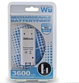 with original package 3600mAH Rechargeable Battery Charger Cable for Nintendo for Wii Remote Controller