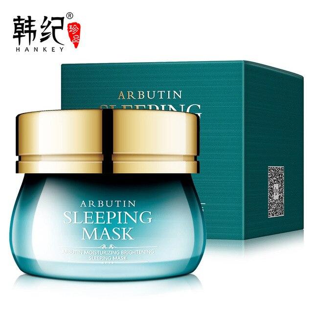 120g face mask Arbutin tony moly Sleeping mask skin care korean sleep mask facial mask gel lifting visage collagen Moisturizing 2