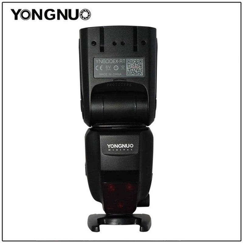YONGNUO YN600EX-RT II 2.4G Wireless HSS 1/8000s Master TTL Flash Speedlite for Canon 60D 650D Camera as 600EX-RT YN-600EX RT II вспышка для фотоаппарата canon speedlite 600ex ii rt 1177c003