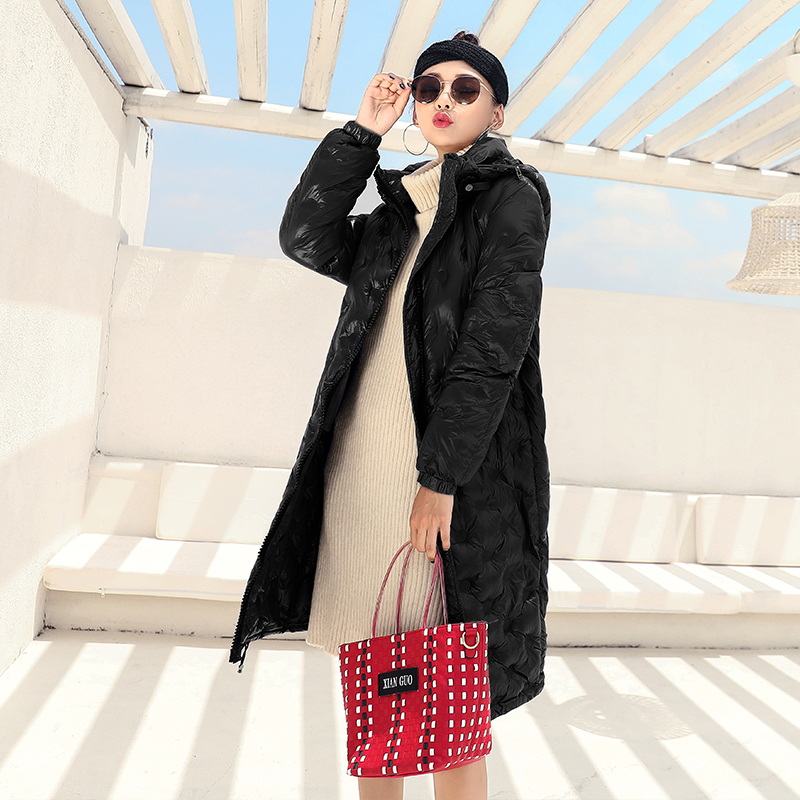 18639a222 2018-Metal-rojo-negro-brillante-caliente-Parka-Casual-Outwear-Abrigo -con-capucha-ropa-mujer-Abrigos-Mujer.jpg