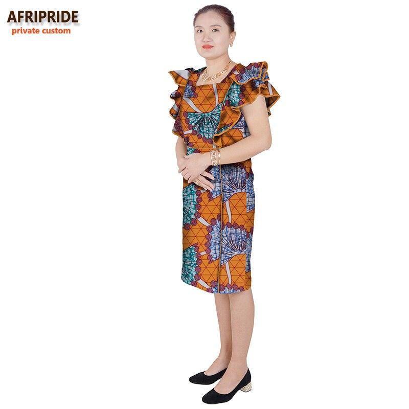 traditionella afrikanska hösten bomull klänningar för kvinnor - Nationella kläder - Foto 4