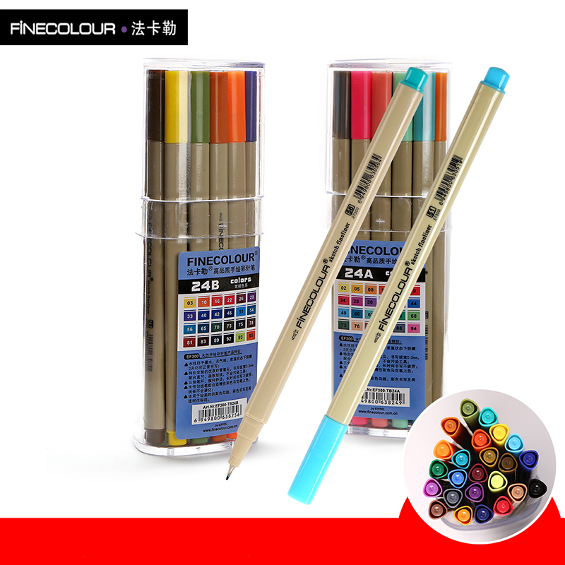 Finecolour Marker Pen Architecture Alcohol Based Art Markers Colors set Manga Marker For Thread Drawing Pen Stationery a group agent architecture based on fipa and ontology