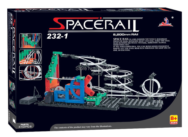 Wholesale New arrival Second Generation Space Rail Toys, Roller coaster Level 1, Overspeeding SpaceWrap, Hot Model Building Kits