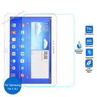 For Samsung Galaxy Tab 3 10.1 Tempered Glass screen Protector 9h Safety Protective Film On Tab3 Gt P5200 P5210 P 5210 GT-P5210