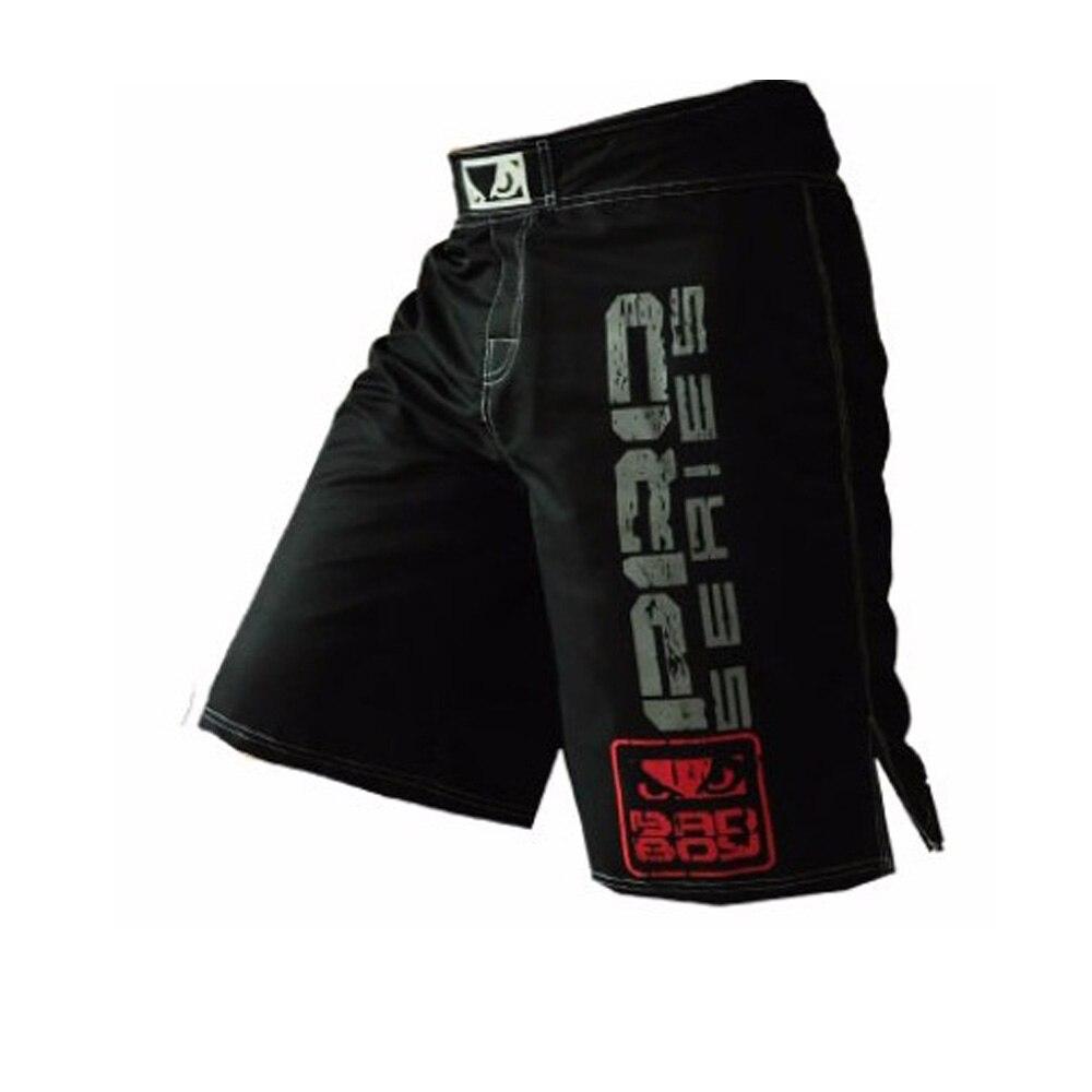 Black White Muay Thai Boxing MMA Fitness Training Pants Boxing Shorts Tiger Muay Thai Cheap Mma Shorts Kickboxing Shorts Boxing