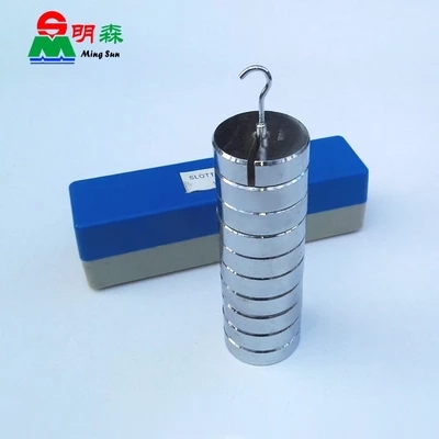Physical Experimental Equipment Teaching Equipment Computation Weigh Metal Slotted Weight 100g*10 Free Shipping