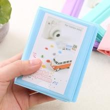 28 карманов Polaroid Фотоальбом мини мгновенный чехол для хранения фотографий для Fujifilm Instax Mini Фильм 8 Корея альбом для фотоаппарата Instax Fotografia