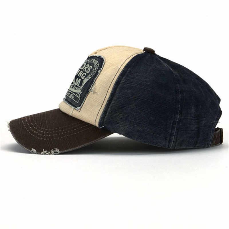 68ca127aebe ... Retro Cool Distressed Wearing Baseball Cap Brand Snapback Caps Men  Women Retro Snapback Hats Vintage Van