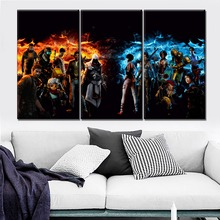 Modern HD Prints Type One Set Modular Combinatorial Art Canvas Painting 3 Piece Game Collage Poster Home Wall Decorative