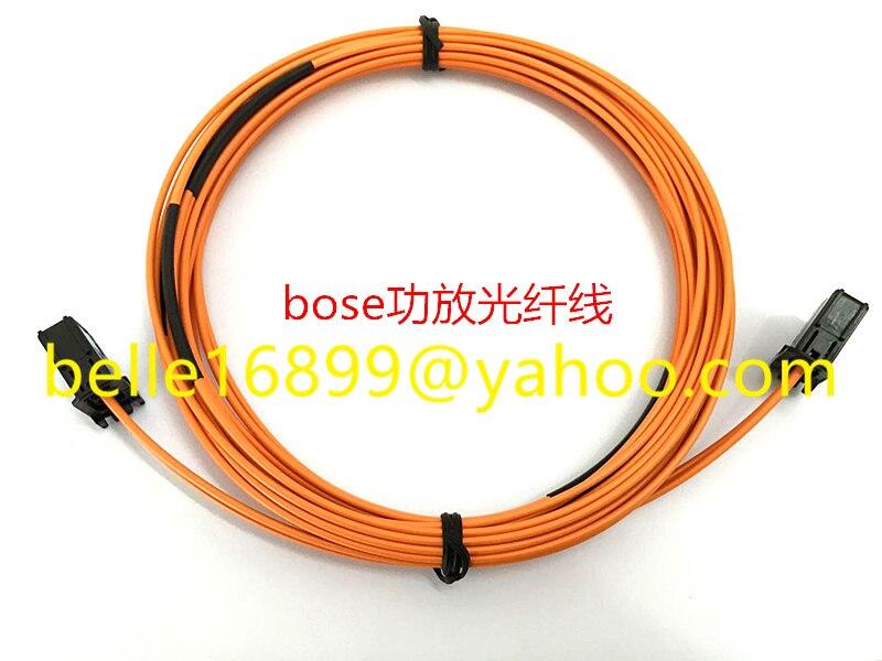 Unterhaltungselektronik Aus Dem Ausland Importiert Kostenloser Versand Optische Faser Kabel Meisten Kabel 400 Cm Für Bmw Au-di Amp Bluetooth Auto Gps Auto Faser Kabel Für Nbt Cic 2g 3g 3g Radio