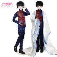 24 Full Set + Night Lolita 1/3 BJD Doll 60cm 19 jointed dolls Boss Toy Cake Mode Male doll + Full Accessories Wig Clothes Shoe
