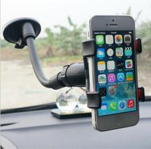 Universal Car Phone Holder Windshield Mount Holder Long Arm Mobile Phone Holder Stand for iPhone Phone Accessories free delivery