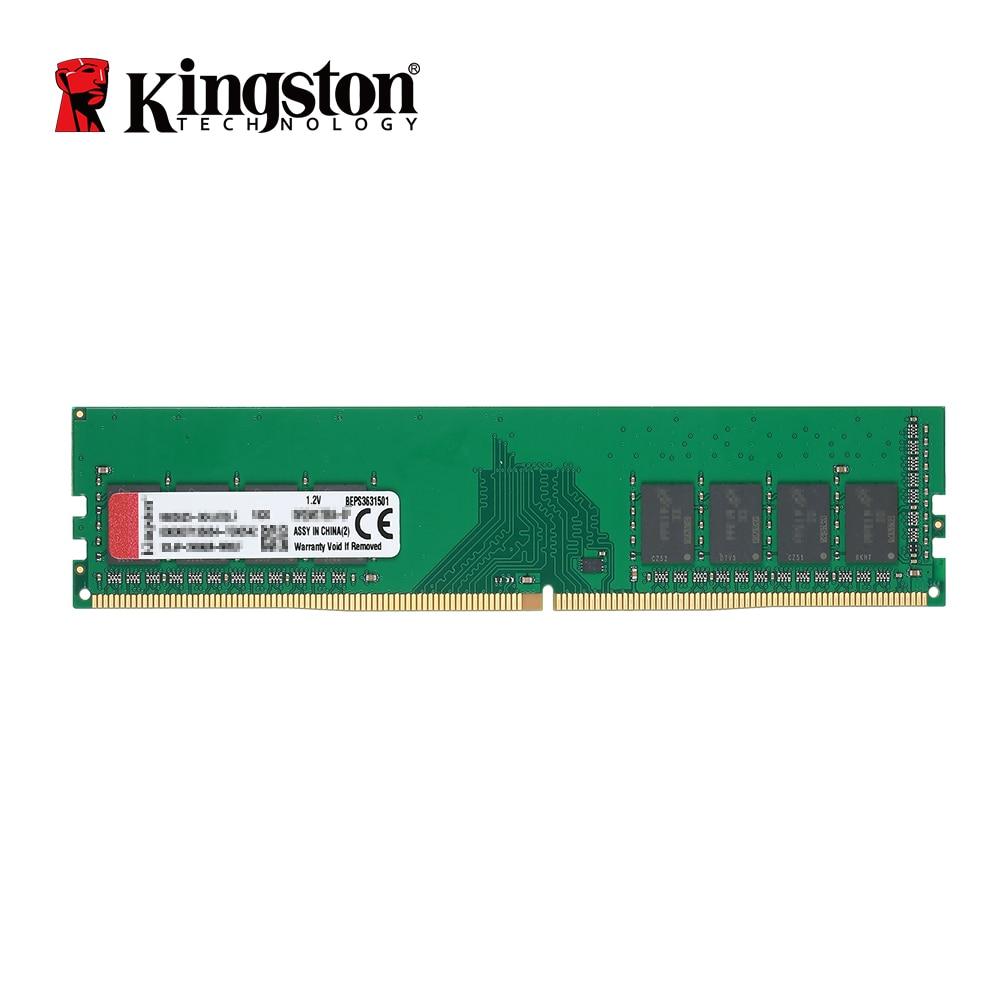цена на Kingston DDR4 8GB 4GB 2400Mhz Memory RAM Desktop Memory Sticks 1.2V SDRAM Module DDR 4 288Pin CL17 8 GB For Desktop KVR24N17S8/4