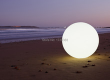 Горячая! диаметр 60 см большой красочный водонепроницаемый из светодиодов шар света волшебный глобус свет бар огни ктв свадьба светильник с дистанционным управлением от SLONG свет