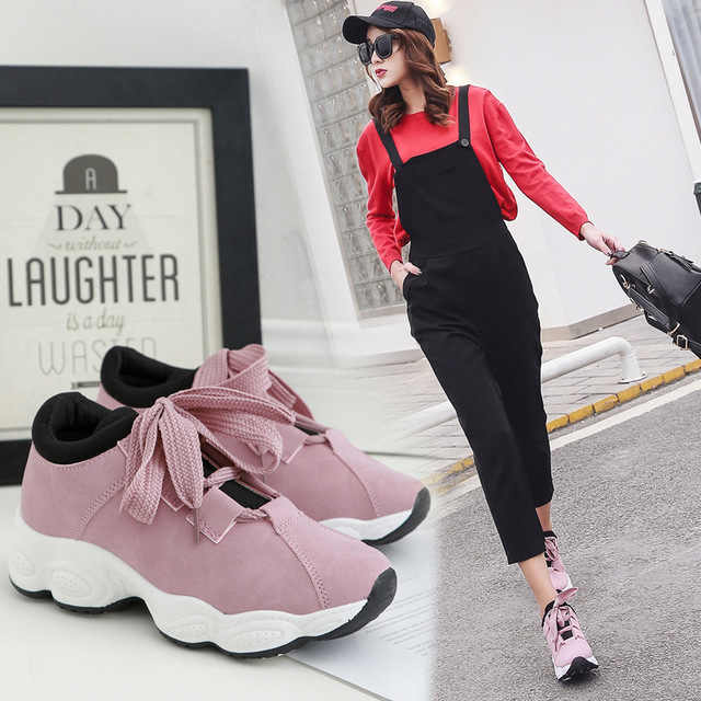 Girls Shoes Woman Female Ulzzang Sports