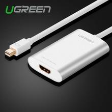 Ugreen thunderbolt mini displayport к hdmi кабель-адаптер display port dp кабель для apple macbook air pro imac mac поверхности Pro