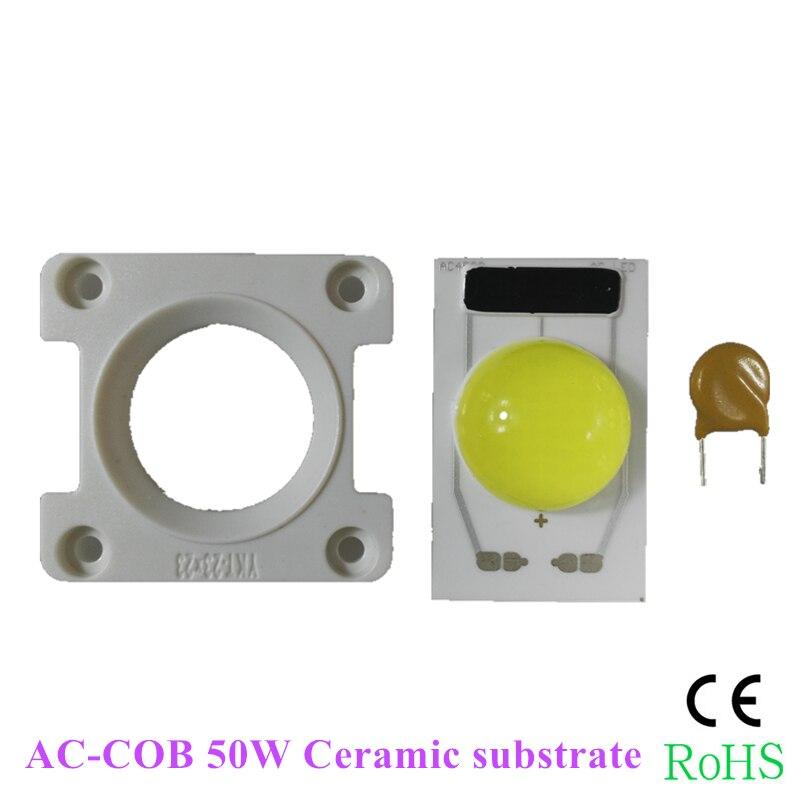 KINLAMS 5ks AC220V keramický COB integrovaný ovladač stmívatelný - Osvětlovací příslušenství