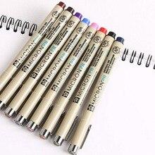 SAKURA Micron PN ручка PIGMA пластиковая водонепроницаемая, устойчивая к выцветанию 8 цветов Япония