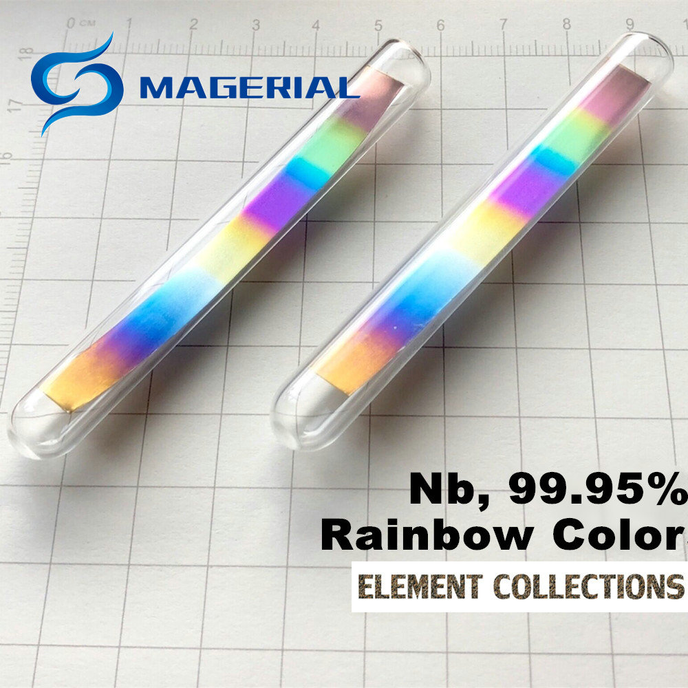Metal Niobium Density Cube Nb 99.99% Pure for Element Collection Hand Made DIY Hobbies Crafts Display Glass Sealed цена