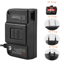 Replacement Power Suppply 100-240V AC Adapter High Efficiency Safety Protection for Nintendo 64 N64 US EU AU UK Plug цены